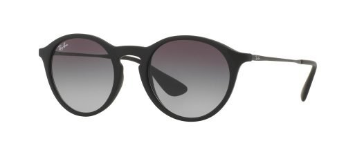 Ray-Ban ROUND RB4243 Matte Black Dark Ruthenium/grey Shaded (622/8G)