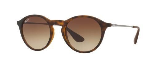 Ray-Ban ROUND RB4243 Havana Rubber Ruthenium/brown Shaded (865/13)