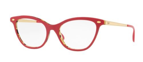 Ray-Ban RX5360 Top Bordeaux on Havana Green/Gold (5714)