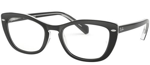 Ray-Ban RX5366 Top Black on Transparent (2034)