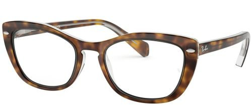Ray-Ban RX5366 Top Havana on Transparent (5082)