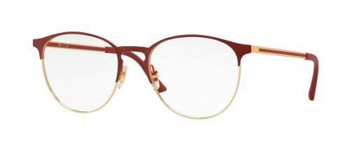 Ray-Ban RX6375 Gold Top on Bordeaux (2982)