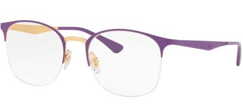 Ray-Ban RX6422 Top Matte Violet on Shiny Gold (3045)