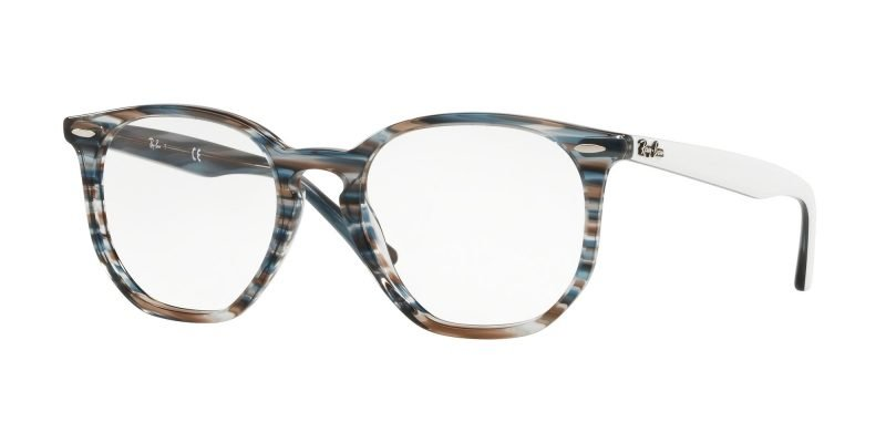 Ray-Ban RX7151 Striped Blue White (5801)