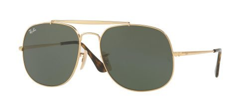 Ray-Ban THE GENERAL RB3561 Gold/g-15 Classic Green (001)