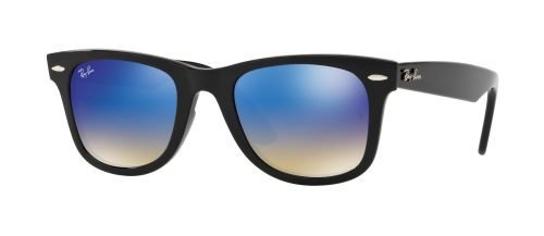 Ray-Ban WAYFARER EASE RB4340 Black/brown Blue Shaded (601/4O)