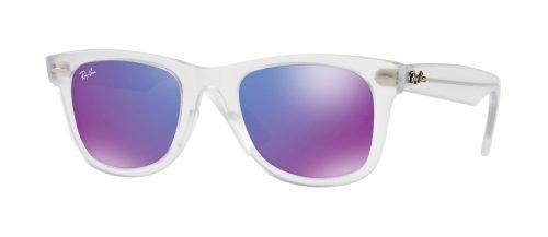 Ray-Ban WAYFARER EASE RB4340 Matte Crystal/grey Purple (646/1M)