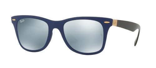 Ray-Ban WAYFARER LITEFORCE RB4195 Matte Blue/grey (6248/30)