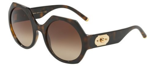 Dolce & Gabbana DG6120 Dark Havana/brown Shaded (502/13)