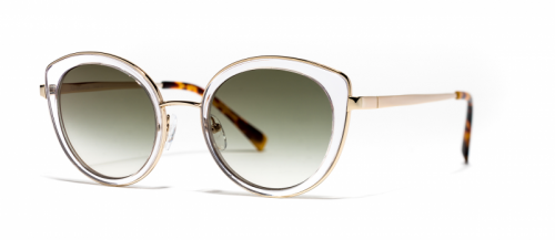 Xavier Garcia NAVAJAS Rose Gold-Dark Havana/Brown Gradient (02)