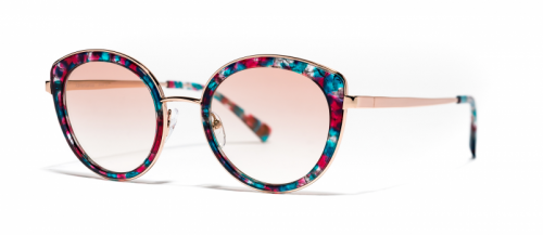 Xavier Garcia NAVAJAS Rose Gold-Blue Red Havana/Rose Gradient (04)