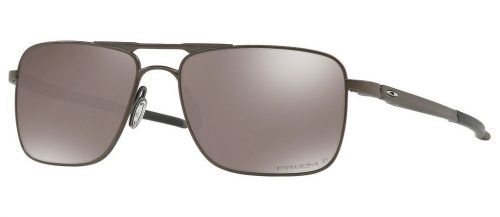 Oakley GAUGE 6 OO6038 Pewter/Prizm Black Polarized (6038-06)