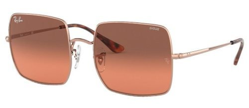 Ray-Ban SQUARE RB1971 Copper/Photo Red Gradient Bordeaux (9151AA)