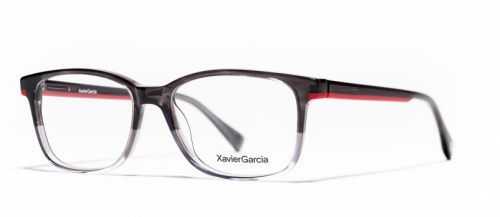 Xavier Garcia XOEL Trasparent Grey/Red (03)