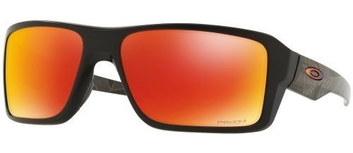 Oakley DOUBLE EDGE OO9380 Matte Black Prizmatic/Prizm Ruby (9380-23)