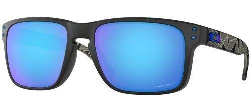 Oakley HOLBROOK OO9102 Matte Black Prizmatic/Prizm Sapphire (9102-H0)