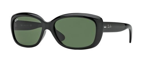 Ray-Ban JACKIE OHH RB4101 Black/g-15 Classic Green (601)