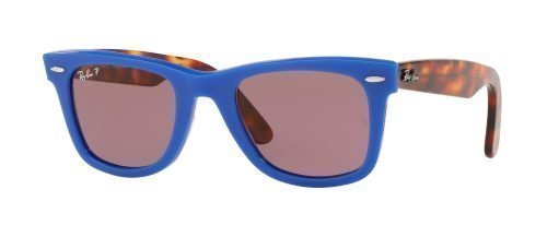 Ray-Ban ORIGINAL WAYFARER RB2140 Blue Red Havana/violet (1241/W0)