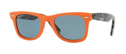 Ray-Ban ORIGINAL WAYFARER RB2140 Orange Grey Havana/blue (1242/52)