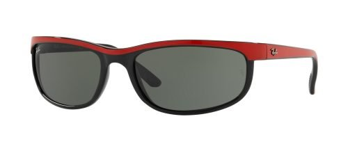 Ray-Ban PREDATOR 2 RB2027 Black Red/green (6300)