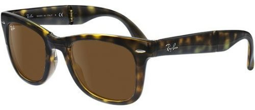 Ray-Ban WAYFARER FOLDING RB4105 Havana/B-15 Classic Brown (710)
