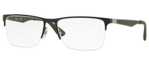 Ray-Ban RX6335 Black/Green (3010)