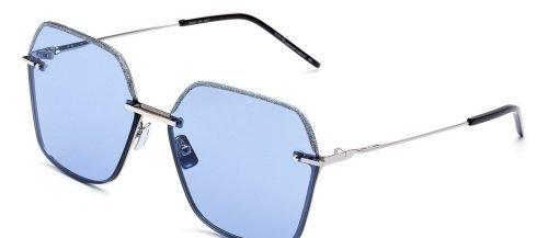 Italia Independent JANICE 0314 Silver/Light Blue Glitter (075.GLT)