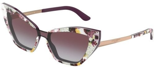 Dolce & Gabbana DG4357 Pink Flowers/pink Shaded (3207/4Q)