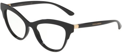 Dolce & Gabbana DOUBLE LINE DG3313 Black/Gold (501)