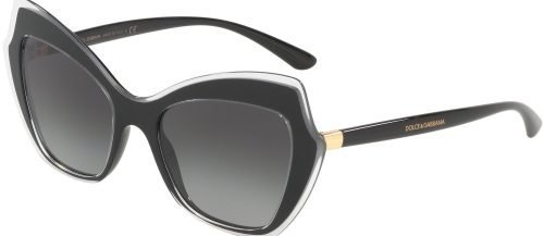 Dolce & Gabbana DG4361 Black Crystal/Grey Shaded (5383/8G)