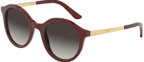Dolce & Gabbana ETERNAL DG4358 Burgundy/Grey Shaded (3091/8G)