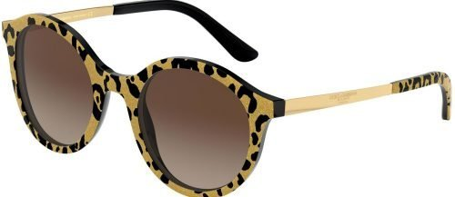 Dolce & Gabbana ETERNAL DG4358 Gold Black/Brown Shaded (3208/13)