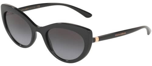Dolce & Gabbana LINE DG6124 Black/Grey Shaded (501/8G)