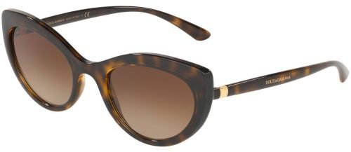 Dolce & Gabbana LINE DG6124 Dark Havana/Brown Shaded (502/13)
