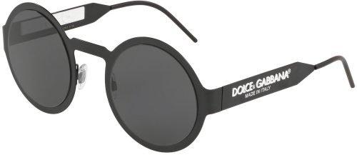 Dolce & Gabbana DG2234 Matte Black/Grey (1106/87)