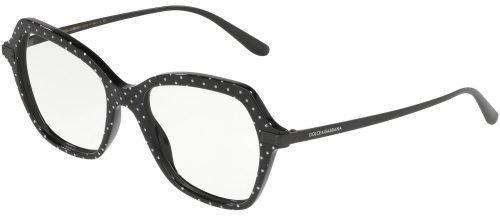 Dolce & Gabbana LOGO PLAQUE DG3311 Black White (3126)