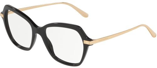 Dolce & Gabbana LOGO PLAQUE DG3311 Black/Gold (501)